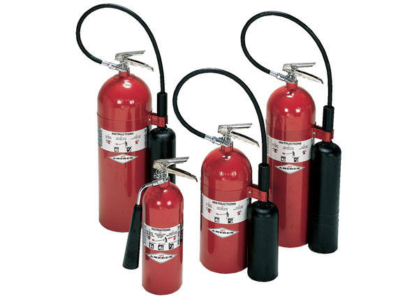 CO2 Stored Pressure Extinguisher