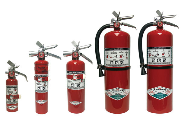 Halotron Clean Agent Extinguishers