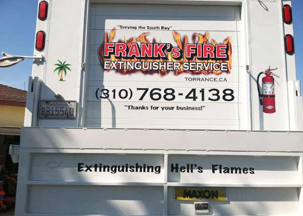 Frank's Fire Extinguisher Torrance, CA