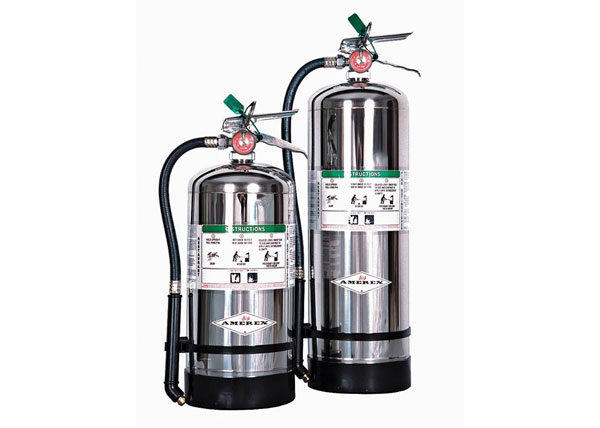 Wet Chemical Stored Pressure Class K Kitchen Extinguisher